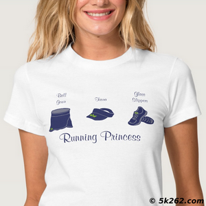 princess running shirt image: Running Princess